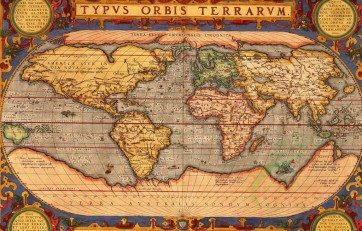 antique_maps-00173 - Orteliuss map of the world from 1601 valued at $15500 [1965x1254]