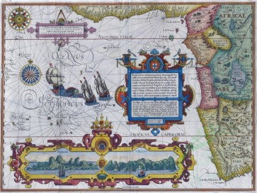 antique_maps-00320 - West_Afrika_by_Jan_Huygen_van_Linschoten_1596 [4176x3124]