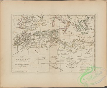 antique_maps-00360 - A map of Barbary, containing the Kingdoms of Marocco, Fez, Algier, Tunis and Tripoli, with the adjacent countries.txt