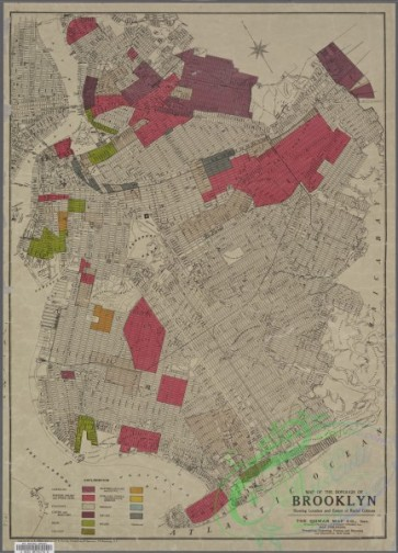 antique_maps-01323 - Map of the Borough of Brooklyn showing location of racial colonies