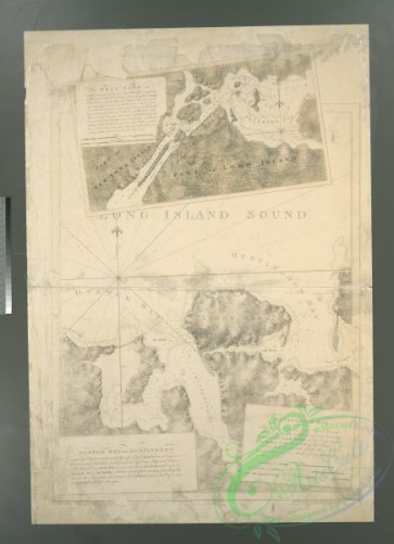 antique_maps-01601 - Oyster Bay and Huntington, Huntington Bay