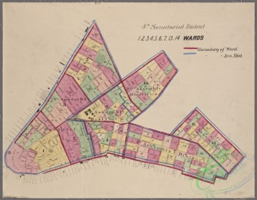 antique_maps-02705 - 0297-(Maps of the 4, 5, 6, 7 & 8 senatorial districts of New York City.)