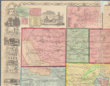 antique_maps-02811 - 0521-Map of Genesee County, New York