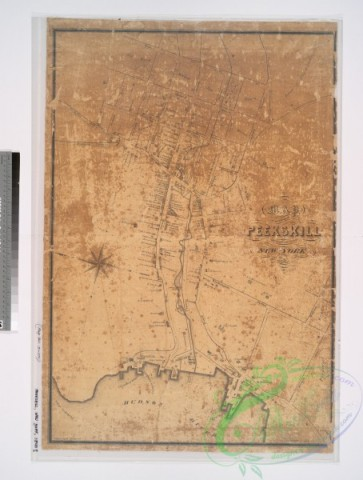 antique_maps-02867 - 1219-Map of the village of Peekskill, Westchester County, New-York