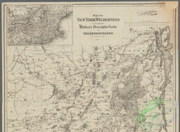 antique_maps-03514 - 4112-Map of the New York wilderness