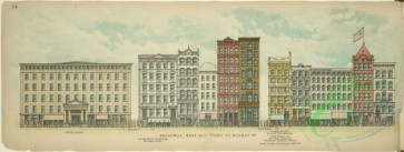 architecture-00048 - 068-Broadway, West Side, Vesey to Murray St