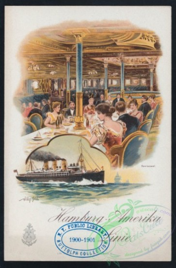 menu-01178 - 01104-Restaurant, Steamship, Sea