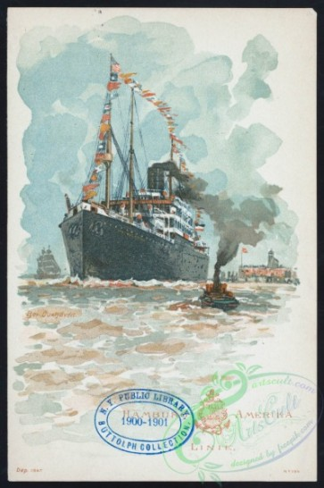 menu-01193 - 01118-Boat, Steamship, Sea