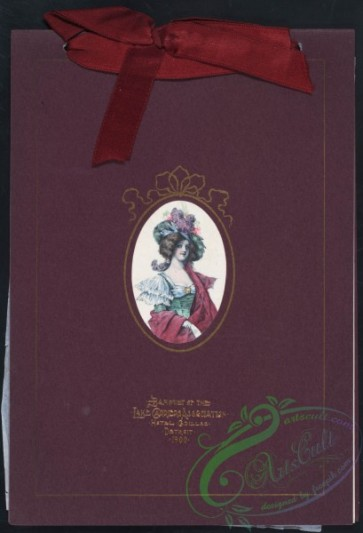 menu-01195 - 01084-Woman in oval frame