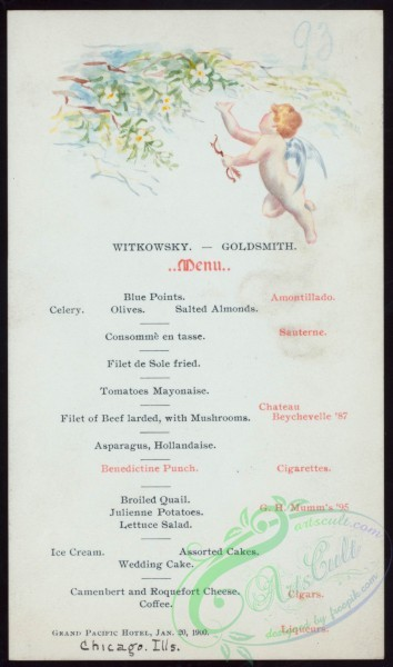 menu-01217 - 01086-Angel boy, Botanical, Flowers