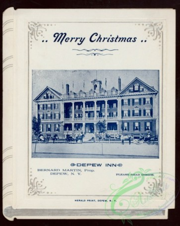 menu-01723 - 01649-Merry Christmas, Frame