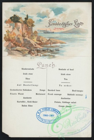 menu-01893 - 01802-Barbadossa, Seashore, sea