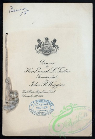 menu-02491 - 02412-Title text, nice handwriting font, Heraldry, horses