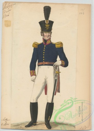 military_fashion-01115 - 106499-Belgium, 1790-1829- de roi