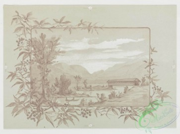 prang_cards_black-and-white-00178 - 0423-Valentines, Christmas, and birthday cards depicting flowers and landscapes 105716