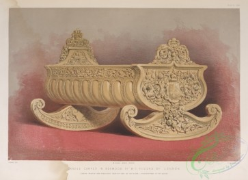 things-00184 - 034-Cradle carved in boxwood by W, G, Rogers, of London