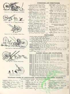 agricultural_implements-00012 - black-and-white Hill and Drill Seeder, Single Wheel Hoe, Monogram Cultivator