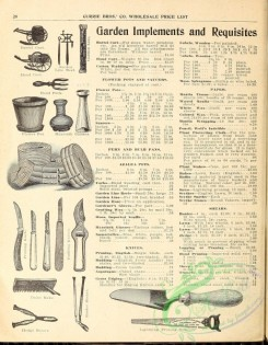 agricultural_implements-00017 - black-and-white Garden Implements and requisites