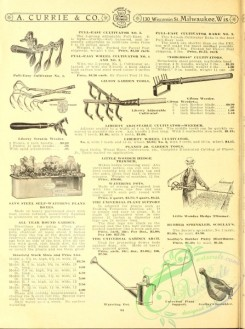agricultural_implements-00021 - black-and-white Watering Pot, Cultivator, Weeder