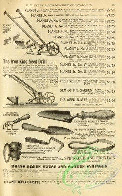 agricultural_implements-00065 - black-and-white Seed Drill, Trowel