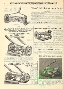 agricultural_implements-00080 - black-and-white Lawn Mower