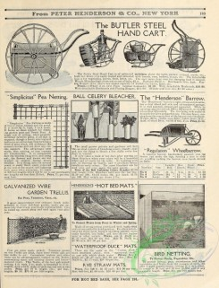 agricultural_implements-00092 - black-and-white Steel Hand Cart