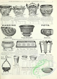 agricultural_implements-00103 - black-and-white Hanging Pot, Vases, Window box
