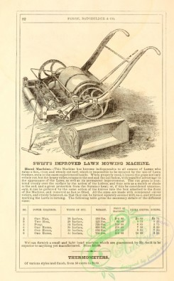 agricultural_implements-00112 - black-and-white Lawn Mowing Machine