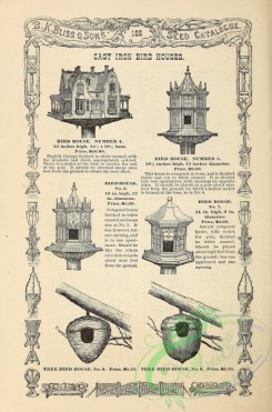 agricultural_implements-00147 - black-and-white Cast Iron Bird Houses