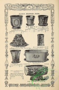 agricultural_implements-00148 - black-and-white Fancy Flower Pots