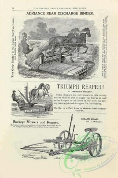 agricultural_implements-00156 - black-and-white Discharge Binder, Buckeye Mowers and Reapers