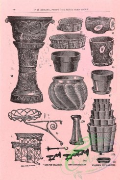 agricultural_implements-00162 - black-and-white Vases, Stands, pots