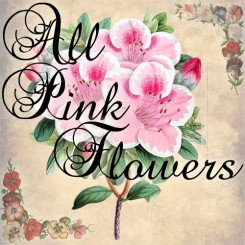 all pink flowers