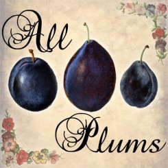all plums