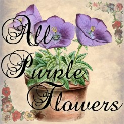 all purple flowers
