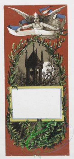 angels-00029 - 17-Christmas and New Year cards depicting children, angels, doves.103780 [1030x2195]