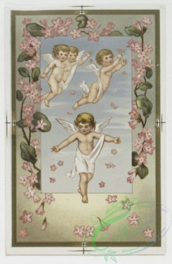 angels-00039 - 219-Easter cards depicting angels, young girls, butterflies, eggs, and flowers.104123 [924x1414]