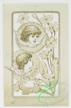 angels-00040 - 219-Easter cards depicting angels, young girls, butterflies, eggs, and flowers.104125 [873x1329]