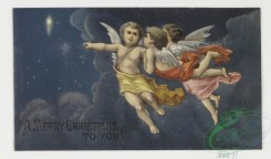 angels-00062 - 4-Christmas and New Year cards depicting cherubs and angels. .106281 [1076x631]