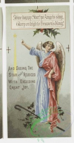 angels-00067 - 4-Christmas and New Year cards depicting cherubs and angels. .106286 [533x1025]