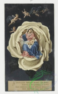 angels-00069 - 4-Christmas and New Year cards depicting cherubs and angels. .106288 [664x1066]