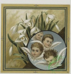 angels-00101 - 550-Christmas and Easter cards depicting scenes on a riverbank, babies, angels, and flowers.106596 [1009x1052]