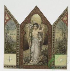 angels-00114 - 74-Triptych Easter cards depicting angels and landscape scenes with birds and lamb.107552 [1408x1423]
