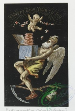 angels-00127 - 95-Christmas and New Year cards depicting biblical scenes, children, angels and flowers.108387 [895x1321]