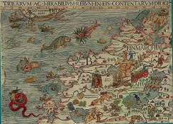 antique_maps-00038 - b Olaus Magnus Map of Scandinavia 1539 [800x573]