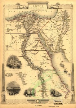 antique_maps-00063 - Egypt and Arabia[1851] [2990x4241]