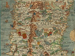 antique_maps-00065 - e Olaus Magnus Map of Scandinavia 1539 [1661x1245]