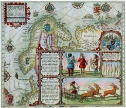 antique_maps-00128 - Map of Scandinavia and the White Sea area1601 [889x762]
