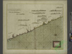antique_maps-00340 - A large draught of parrt of the coast of INDIA from Bombay to Bassalore.txt