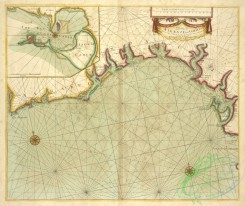 antique_maps-00485 - A chart of the sea coasts of ALGRAVE and ANDALUSIA between Cape St. Vincent and the Strait of Gibralter and C. Spartel.txt